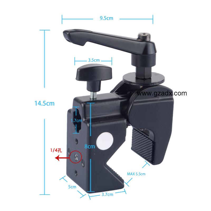 维特利/VICTORY 产品类型:辅助道具类 产品品名:摄影大力钳 型号: CL-22