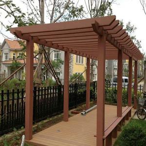 供青海玉树景观廊架和互助弧形廊架质量优