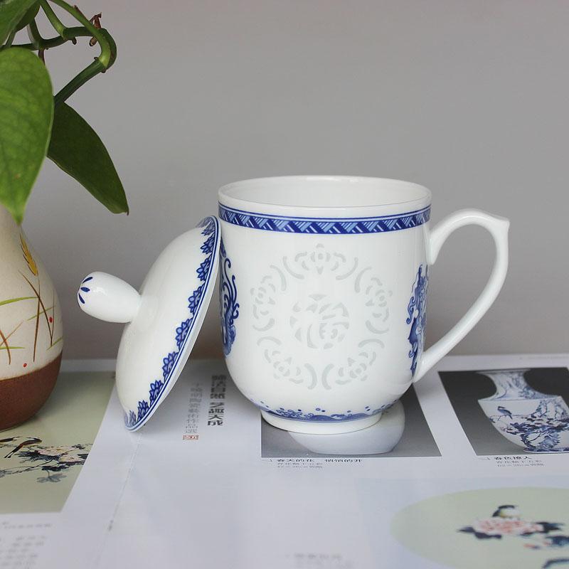 景德镇定做纪念茶杯厂家