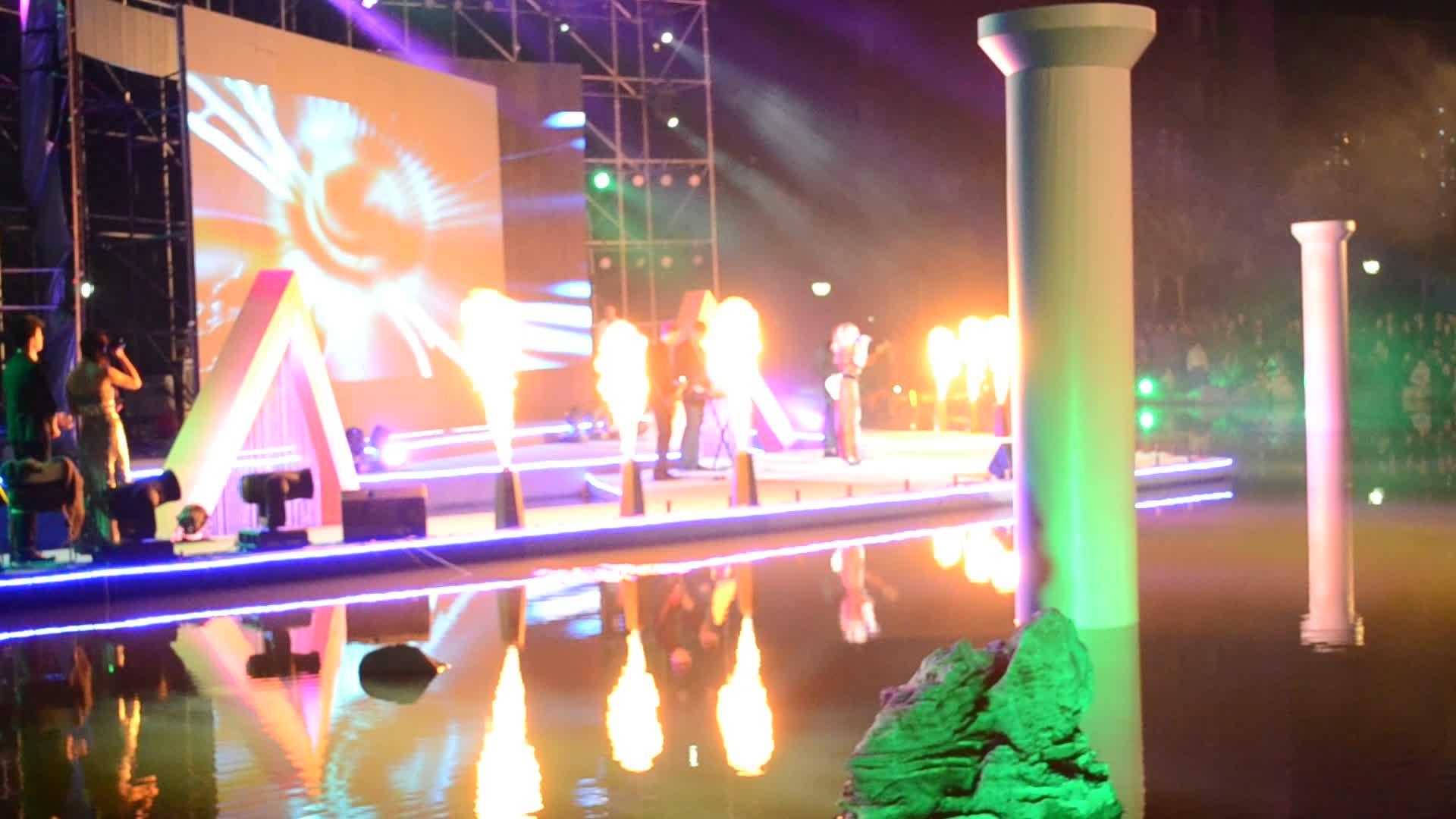 长沙庆典活动舞台特效CO2气柱烟雾机干冰机喷火机出租租赁