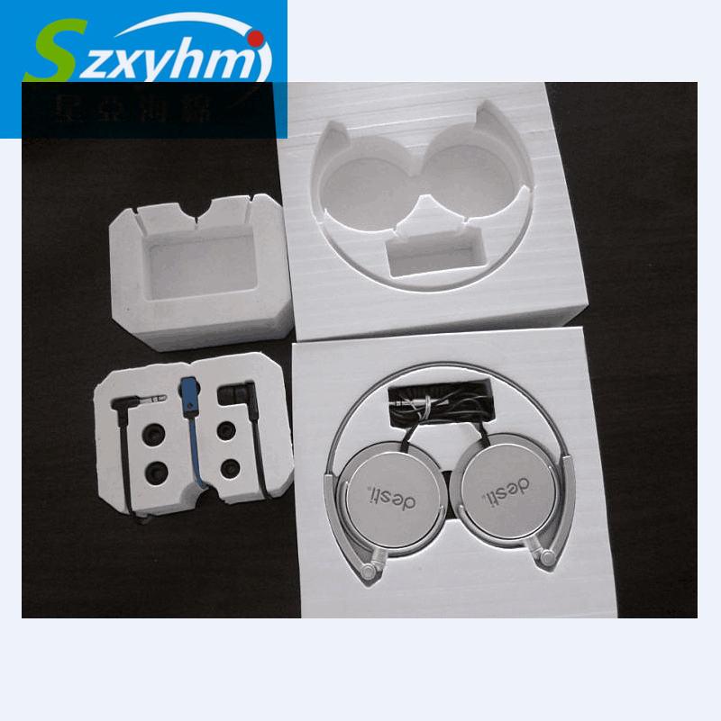 厂家直销新款EVA蓝牙耳机包装盒 白色蓝牙耳机包装内托