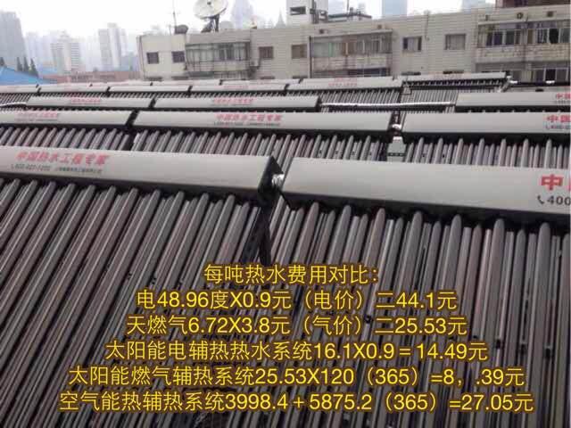 高档太阳能热水器 3吨太阳能热水工程 适用于宾馆、浴场、宿舍