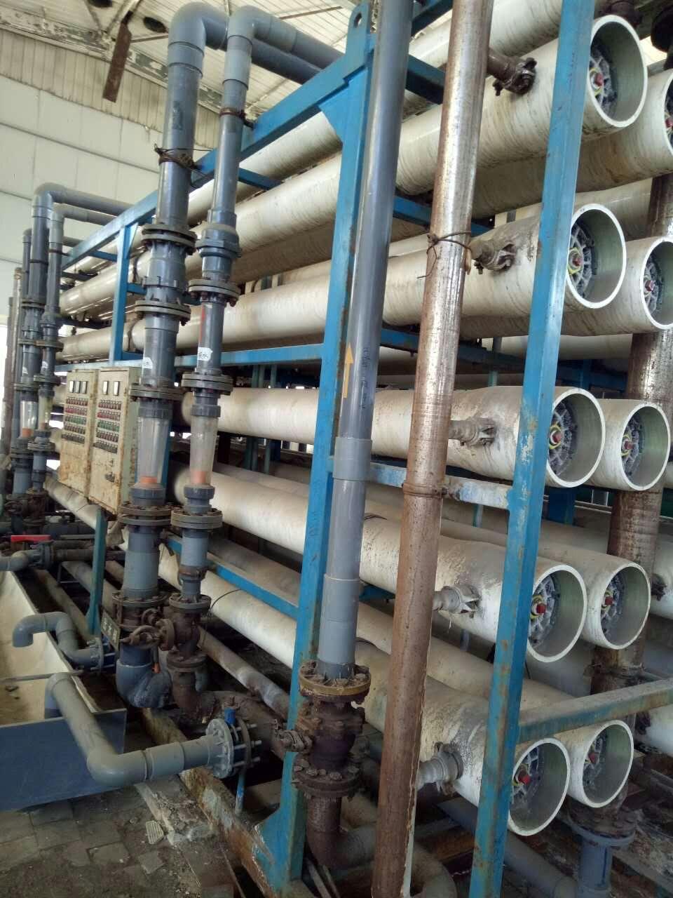 二手双级反渗透水处理 120吨产水量反渗透