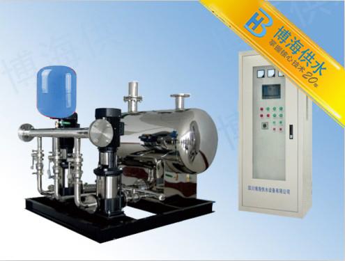博海供水二次供水改造采用全自动供水设备变频运行更节能