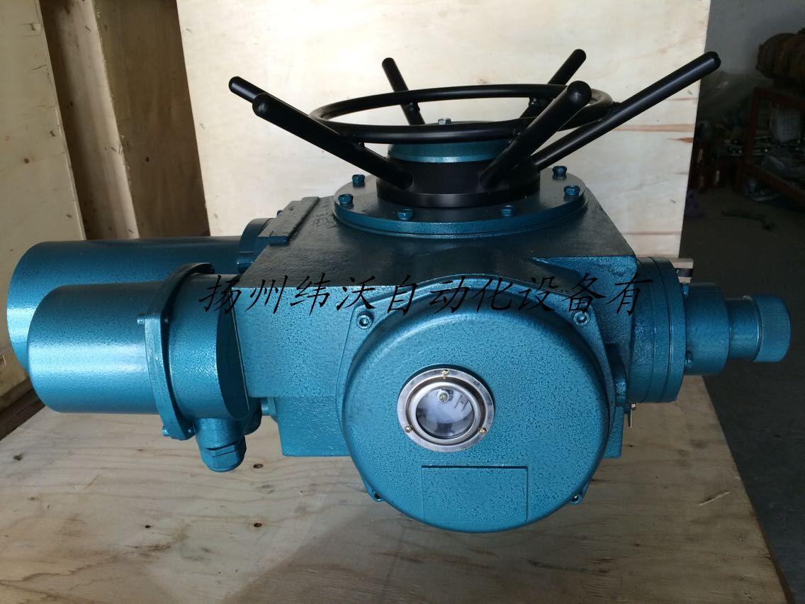 扬州多回转DZW60电动执行器配套电动法兰闸阀