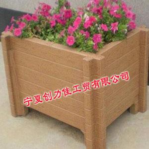 供银川锌钢木纹花箱和宁夏仿木花箱供应商