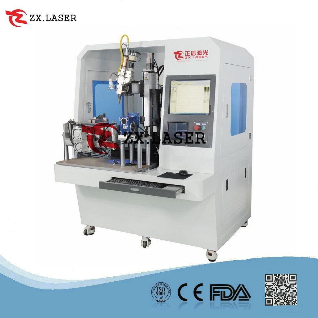 全自动铝烟盒激光焊接机就选东莞正信激光ZXW-F500