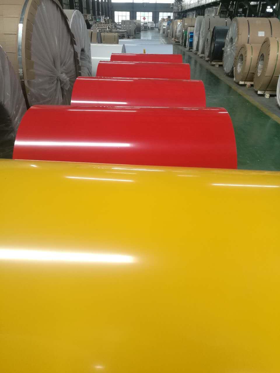 厂家现货供应 铝镁锰彩铝优质铝卷、铝板、铝带