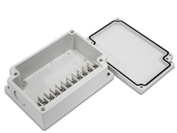 厂家直销TIBOX防水端子盒 10P端子盒 一体式接线盒