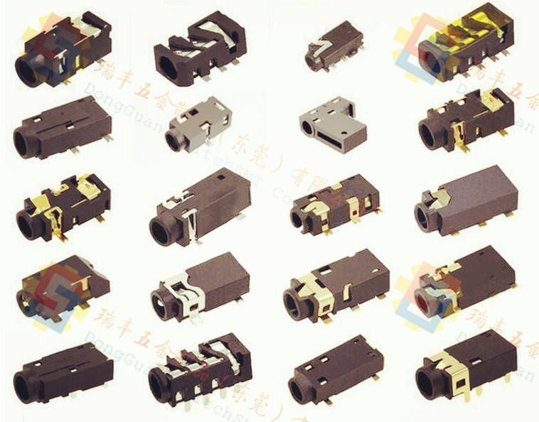 沉板式耳机插座高可靠稳定/防水耳机插座品类齐全/斜边超薄耳机插座售后无忧