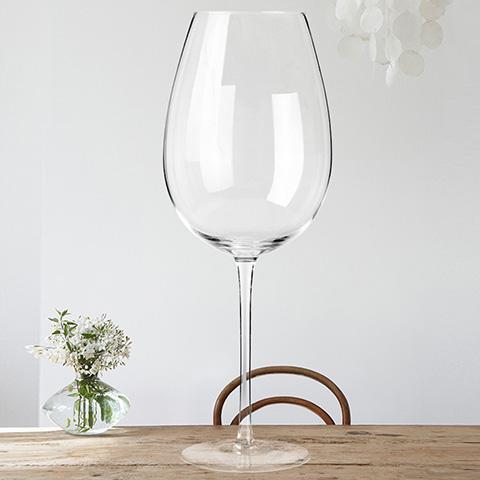 芯锐人工吹制超大型水晶杯别致典雅时尚家居超级水晶杯