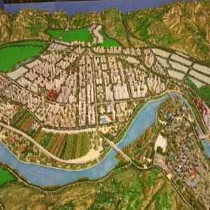 供甘肃皋兰景观模型和榆中模型