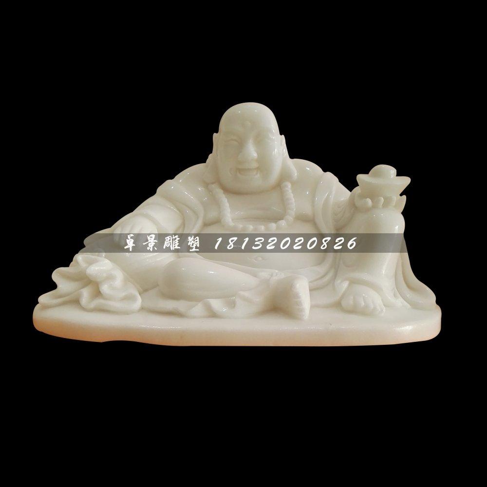 弥勒佛石雕,汉白玉佛像