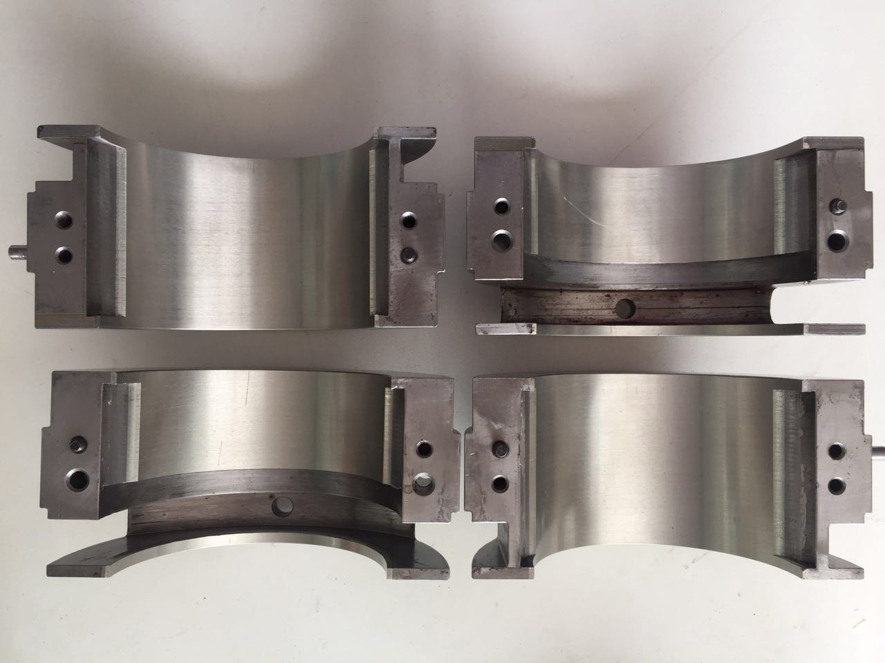 苏州虎伏为各规格高速电机轴瓦提供专业的焊接修复