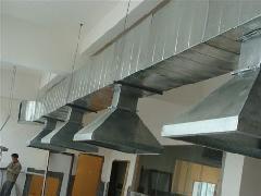 西城厨房排烟管道制作通风设备安装白铁管道加工