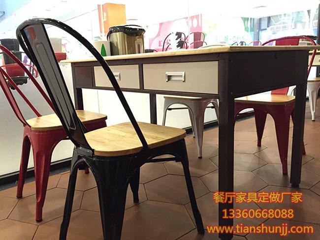 东莞沙田镇哪里有卖带抽屉餐桌或餐厅家具定做