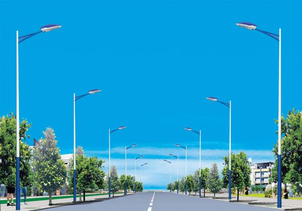 隆安县灯杆价格 隆安6米太阳能灯杆 隆安乡村灯杆批发