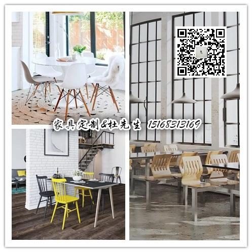 杭州公司学校食堂家具桌椅工厂定制