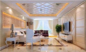 新乡客厅装修价格,欧式简约风格客厅装修价格,和达供