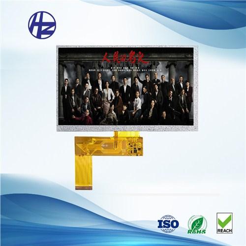 华钻科技厂家直供BOE京东方7寸车载显示屏TFT液晶屏模组