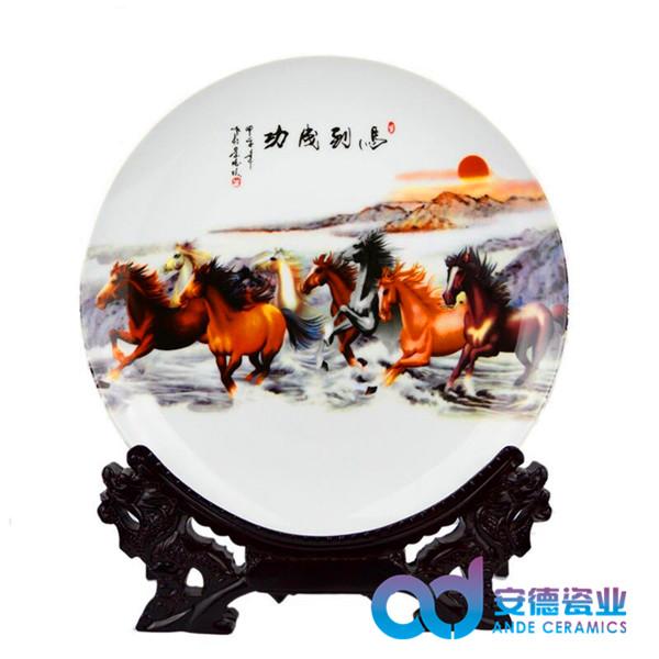 纪念瓷盘供应商 纪念瓷盘加工