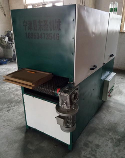 全自动异型砂光机木门打磨机异型厨门抛光机