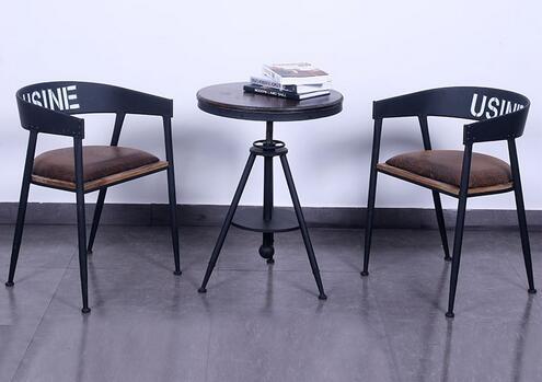 铁艺吧台桌椅