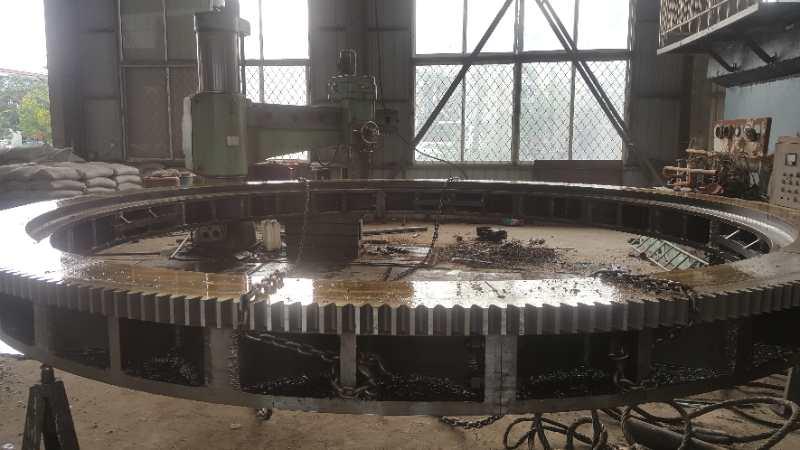 大型机械设备  2-8米滚齿轮