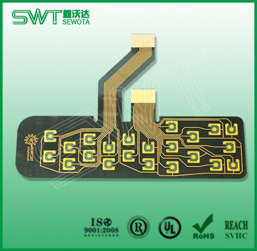 PET透明按键板,透明PI软板,透明柔性线路板