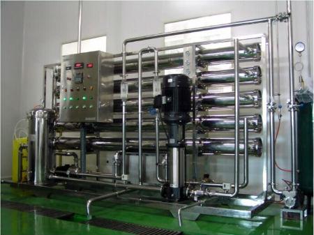 上海2T/H反渗透纯水设备;工业纯水设备;工业反渗透