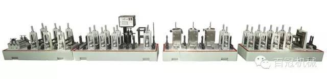 不锈钢工业焊管制管机 饮用水管 流体管 成型机械设备