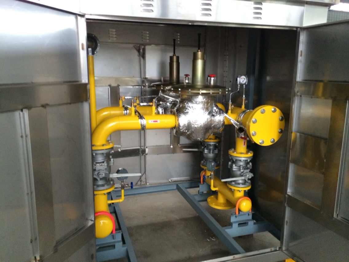 电伴热带自控温式预防燃气调压器结冰电伴热保温系统