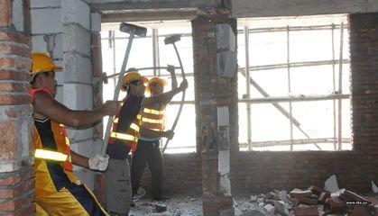 北京昌平区别墅扩建开门开窗拆除打孔