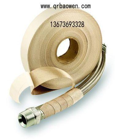 祺瑞高硅氧纤维带管线路隔热绝缘保温包扎带