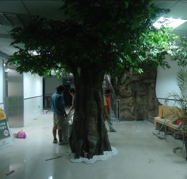 北京仿真树定做桃树出租价格
