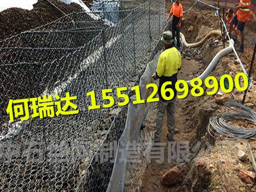 镀锌格宾石笼网挡墙 生态防护石笼网