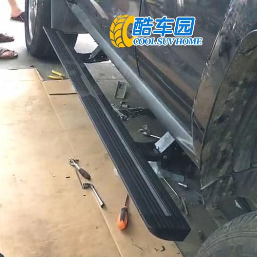 悍马H3电动踏板_悍马H3改装自动踏板_悍马H3加装侧踏板--酷车园
