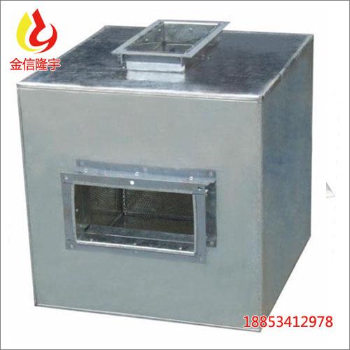 隆宇消声器静压箱风管消音箱管道静压箱风管排烟静压箱厂家直销 一、产品结构