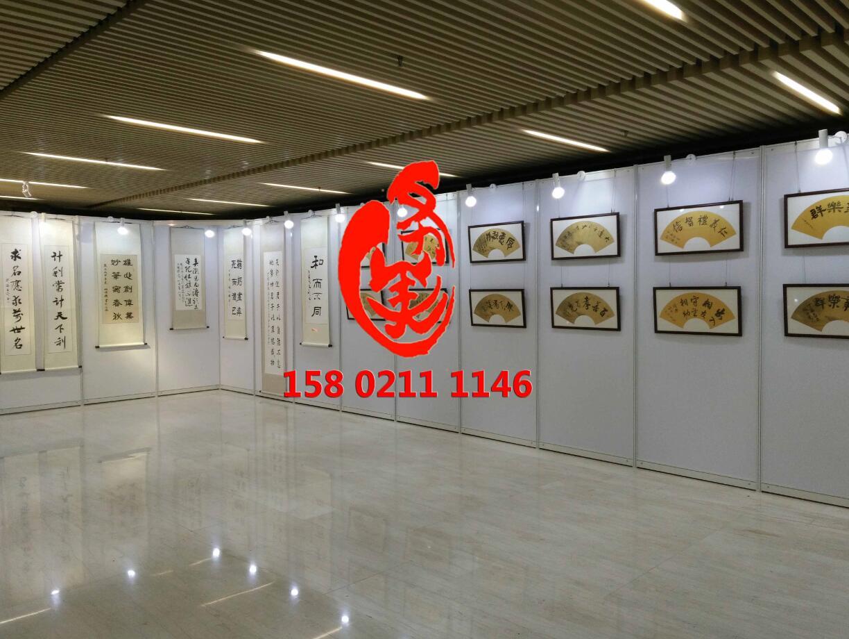 厂家直销白色1X2.5米画展挂画展示展板架出租限上海地区