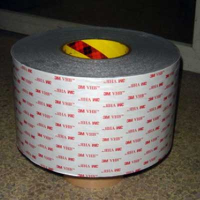 供应正品3M4941灰黑色防水泡棉双面胶 3mVHB双面胶带可代加工模切冲型