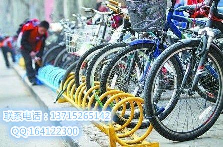 既方便又实惠的自行车停放架,可防盗