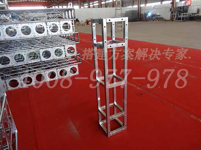 安徽饰界镀锌方管桁架,桁架厂家直销,专车发货