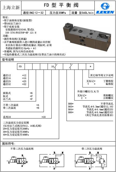 立新压力继电器HED40A1XB/100Z15L24一级代理商