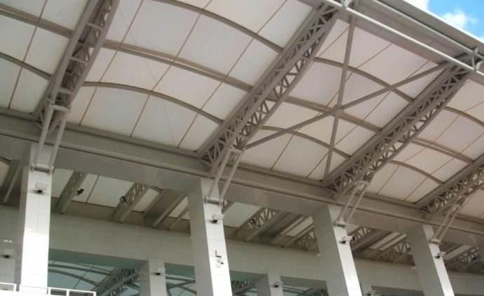 佛山专业膜结构公司,PVC膜材加工,PTFE膜结构看台制作