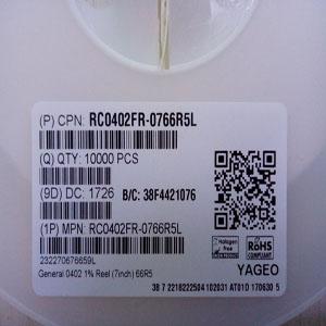 厚膜电阻,贴片电阻,国巨电阻-现货