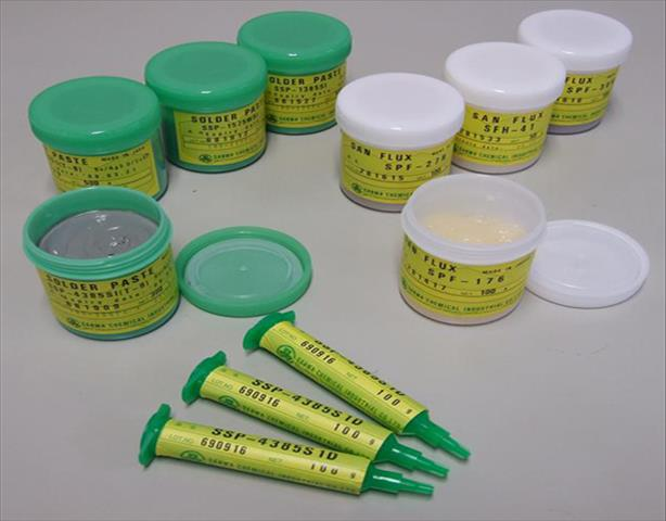 日本SANWA (SSP-4385S1D)无铅锡膏 水溶性环保锡膏