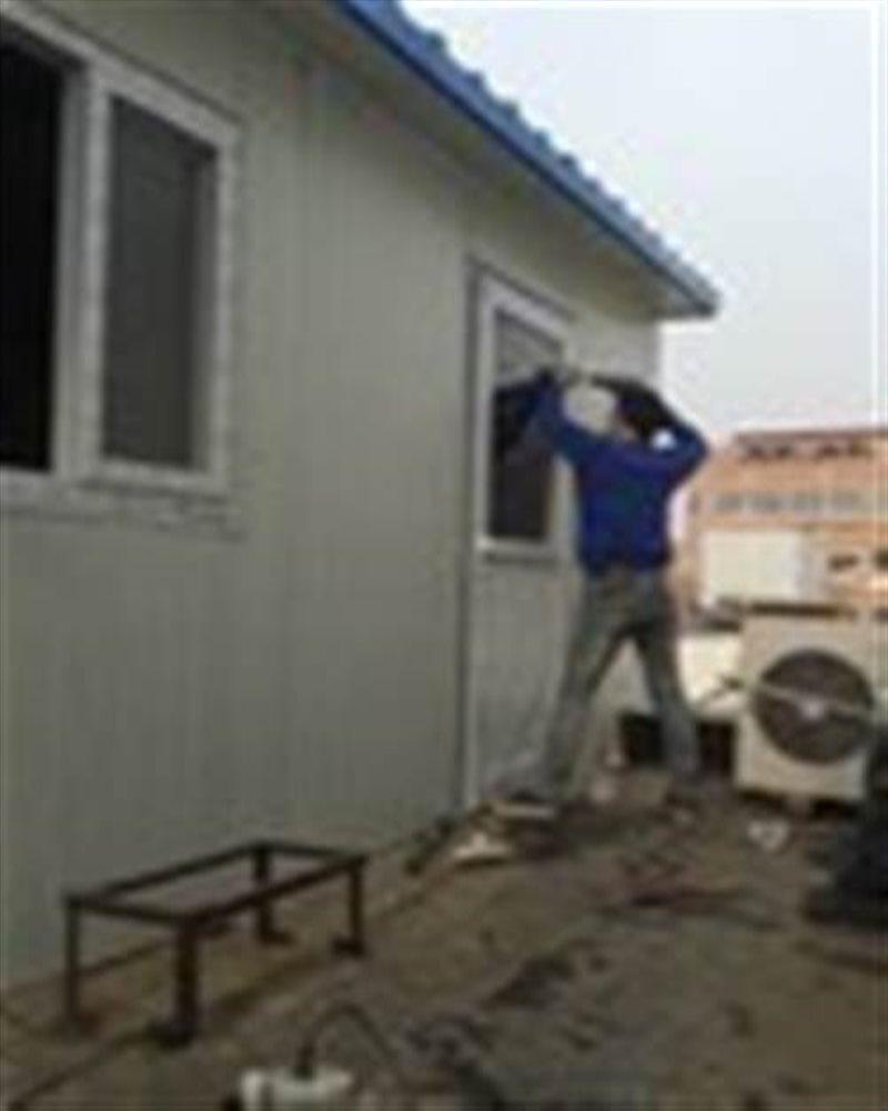 通州区专业彩钢房搭建  68601256彩钢房防水 阳台封顶防水维修