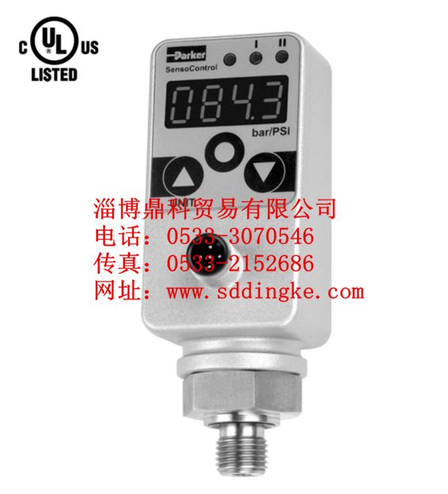 PARKER派克正品压力检测仪 压力表SCJN-01