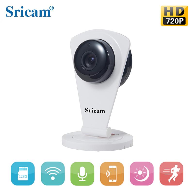 无线wifi手机远程监控摄像机 百万高清室内插卡摄像头