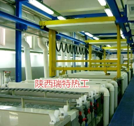 自动化高效操作电镀生产线设备